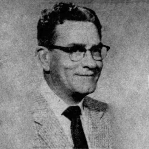 Past President and Charter Member, Dr. Edwin T. McMannis